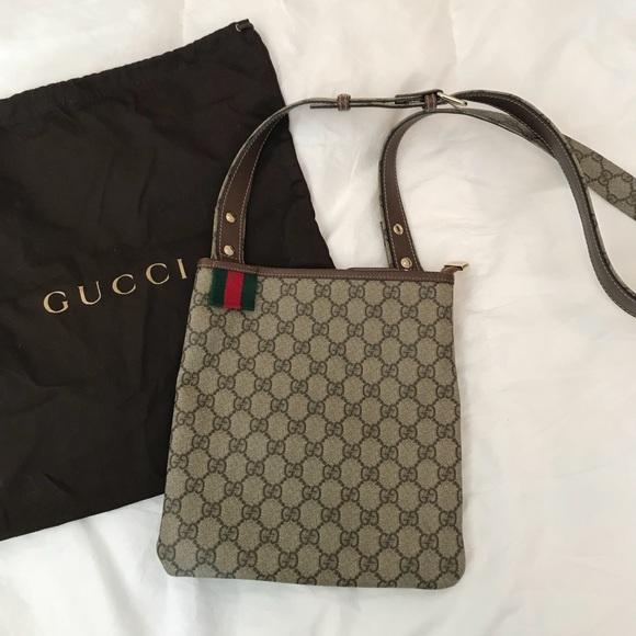 8f441b0fa61 Gucci Handbags - Gucci GG Supreme Crossbody Bag